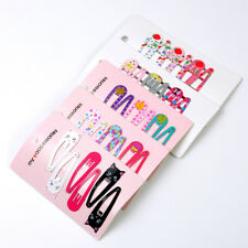 """6PCS 2"""" Hair Clips Snaps Hairpin Girls Baby Kids Hair Bow Accessories Decor Gift"""