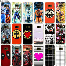 Back Case Cover for Samsung Galaxy S7 S6 Edge S8 S9 Plus Hard Pattern Cartoon