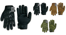 Black US Army Military Lightweight Mechanics Tactical Hunting Gloves Glove S-2XL