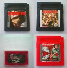 Resident Evil Nintendo GBC GBA Video Game Cartridge Console Card English Languag