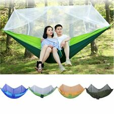 260x130cm Outdoor Camping Sleeping Hammock Hanging Bed Tent With Mosquito Net XP