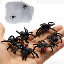 Stretchy Spider Web Cobweb With 6*Plastic Spider for Halloween Party Decoration