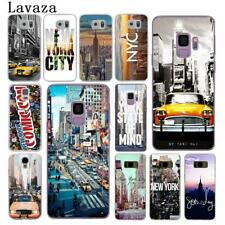 Pattern design Hard Phone Cover for Galaxy Samsung S9 S8 Plus S7 S6 Edge City