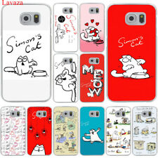 Fashion Back Case Cover Hard Cartoon for Samsung Galaxy S8 S9 Plus S7 S6 Edge