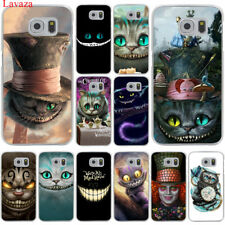 Case Cover cartoon for Samsung Galaxy S6 S7 Edge S8 S9 Plus Hard cat Cute