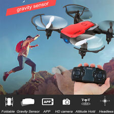 2MP 720P HD Camera WIFI FPV Foldable Drone 2.4G 6-Axis RC Quadcopter Headless 3D
