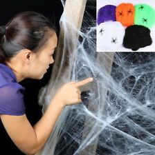 Halloween Home Party Decoration Spider Web Prop Haunted House hanging cobweb