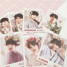 7PC KPOP BTS Love Yourself 结 Answer Album Jin V Paper Photo Cards Photocard Gift