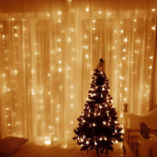 US 300cm Led curtain lights light string Christmas home  Wedding Decoration gift