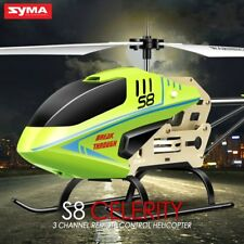 SYMA S8 RC Helicopter Gyro Remote Control Helicopter Aircraft  With Shatter