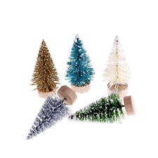 12pcs DIY Christmas Tree Small Pine Trees Xmas Party Desktop Decor Kids Gifts P0