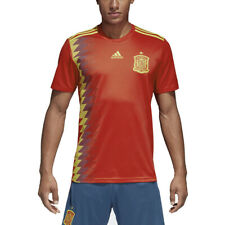 Adidas Men's Spain Home Soccer Football Jersey Red/Bold Gold CX5355 NEW!