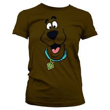 Officially Licensed Scooby Doo- Scooby Doo Face Women T-Shirt S-XXL Sizes