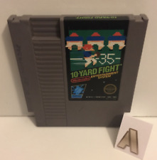 Nes - 10 Yard Fight Pre-owned (CHOOSE YOUR CART) Free shipping No box or manual