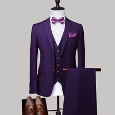 Custom men's suit men's fashion suit three-piece suit (coat + pants + vest)