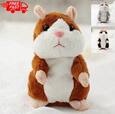 Cute Talking Hamster Mimicry Pet Plush Toy Kids Speak Sound Record Toy Gift New