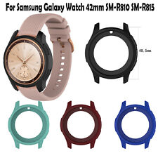 Silicone Skin Case Cover Shell for Samsung Galaxy Watch 42mm SM-R810 SM-R815 New