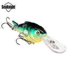 Crank Fishing Lure Artificial Hard Bait Wobblers Crankbait Tackle Accessories