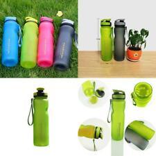 Water Bottle 1000ml Portable Outdoor Sports Drinking Tumbler Camping Hiking Cup