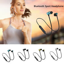Bluetooth 4.2 Stereo Earphone Headphone Wireless Magnetic In-Ear Earbuds Headset