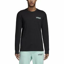 adidas Kaval Graphic Ls Long Sleeve T-Shirt Black Men
