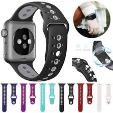 Replacement Silicone Sport Watch Band Strap for Apple Watch Series 4 3 1 40 44mm