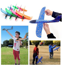 1Pc Manual Throwing Glider Inertia Foam Aircraft Outdoor Kids Model Hand Launch