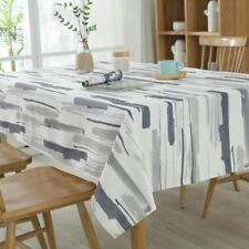 Colorful Printed Rectangular Shape Dustproof Table Cover For Home Decoration