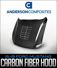 ANDERSON COMPOSITES TYPE-GT5 CARBON FIBER HOOD: 2015-2019 FORD MUSTANG