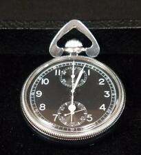 Breitling Wakmann Chronograph | WWII Military Pocket Watch | Super Excellent