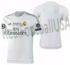 ADIDAS REAL MADRID AUTHENTIC FINAL UEFA CHAMPIONS LEAGUE MATCH JERSEY 2015/16.