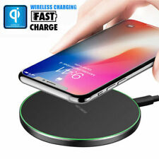 Qi Wireless Fast Charging Charger Pad Mat for iPhone XS Max X Samsung S10 S9 S8