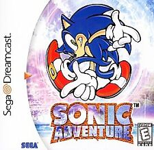 Sonic Adventure - US Sega Dreamcast - Complete - White Label