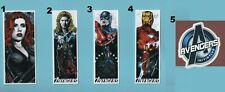 AVENGERS Stickers Buy 1 get 1 FREE Marvel Comics THOR Black Widow IRON MAN