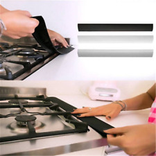 5cm Silicone Kitchen Stove Counter Gap Cover Oven Guard Spill Seal Filler CN88