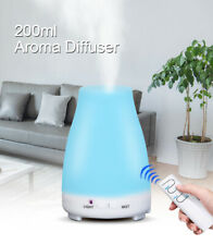 200ml Aroma Essential Oil Diffuser ultrasonic air Humidifier aromatherapy