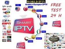 IPTV SUBSCRIPTION 1 YEAR - Premium LiveTV & VOD + PPV USA/IPTV CANADA UK...