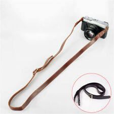 Genuine Leather Camera Shoulder Strap Belt for SLR DSLR Canon Sony Nikon Fuji