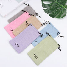 Eyeglasses Pouch Sunglasses Bag Optical Glasses Case Lanyard Cloth Bags