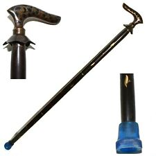 Wooden Walking Stick For Women and Men - Wooden Walking Cane Hand Carved Stick W