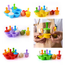 Silicone Popsicle Mold DIY Food Mould 7 Cavities For Home Kitchen Freezer Trays