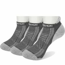 Men Ankle Low Cut Socks Breathable Cotton Cushion Casual Boat Non-slip 3 Pairs