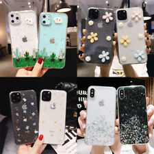 Pattern Phone Case For iPhone 11 Pro Max XS XR 8 7 6 Plus Soft IMD Epoxy Cover