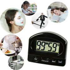 LCD Electronic Alarm Kitchen Cooking Mini Digital Count Up and Count Down Timer