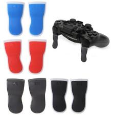 2PC Extended Trigger L2 R2 Touch Grip Extender Button Cover for PS 4 Controller