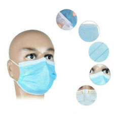 50X Earloop Mask Cycling Anti Dust Virus Flu Mouth Face Mask Surgical Respirator