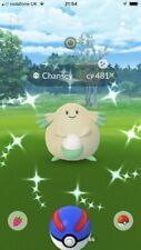 POKEMON GO ! 40% OFF ! GONE FAST ! MINI ACCOUNT ONLY 🎇SHINY CHANSEY CHANEIRA