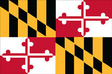 Nylon State of Maryland Flag- Made in U.S.A.