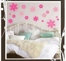60 Flower Dots Wall Decal Deco Art Sticker Mural