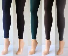 150 Denier Thick Footless Tights -Black,Grey,Navy,Brown,Burgundy,Bottle Green
